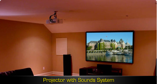 Projector with Sounds System